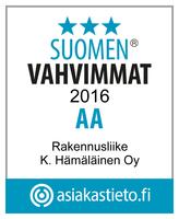 Suomen vahvimmat rakennusliike kari hämäläinen